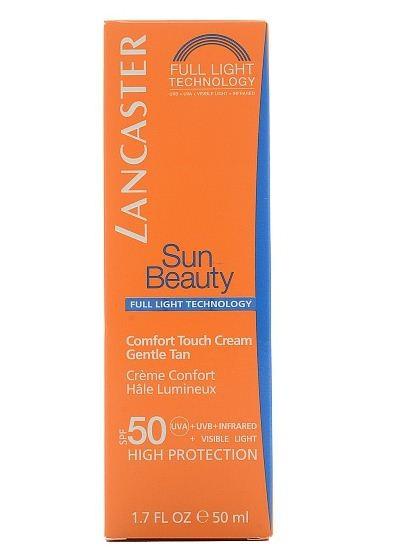 Lancaster Sun Beauty Care Крем-комфорт сияющий загар SPF50 50 мл