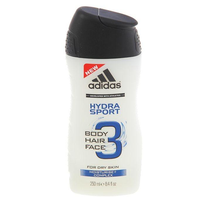 Adidas гель для душа + шампунь для мужчин Hydra Sport