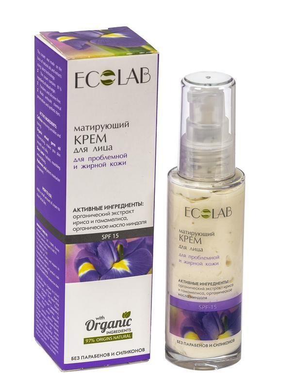 Ecolab Крем матирующий для лица Для проблемной и жирной кожи