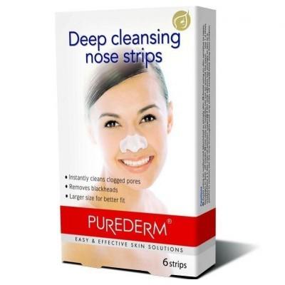 PUREDERM Полоски для глубокого очищения пор носа 6 шт (Purederm)