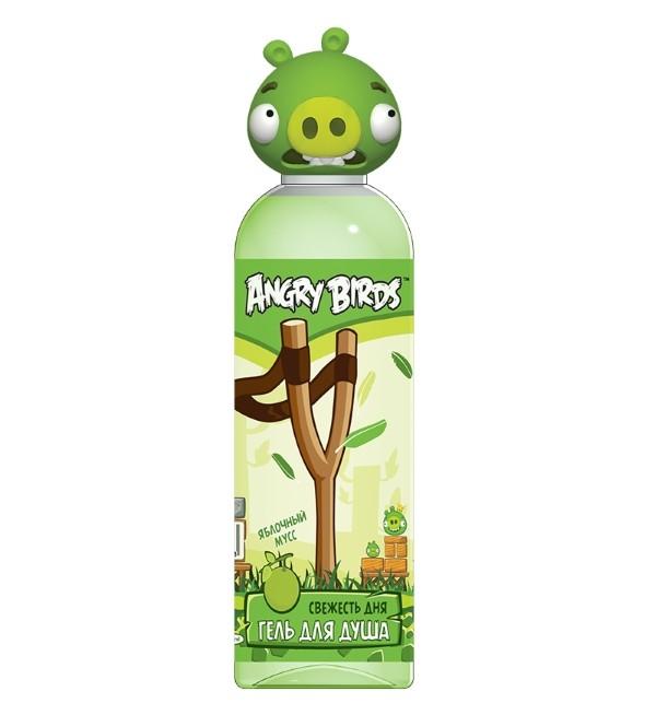 Angry Birds Гель для душа Свежесть дня яблочный мусс Грин Пиг