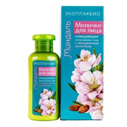 БИОКОН ЭКОЛЛА-БИО Молочко очищающее для лица Миндаль 120мл (Биокон)