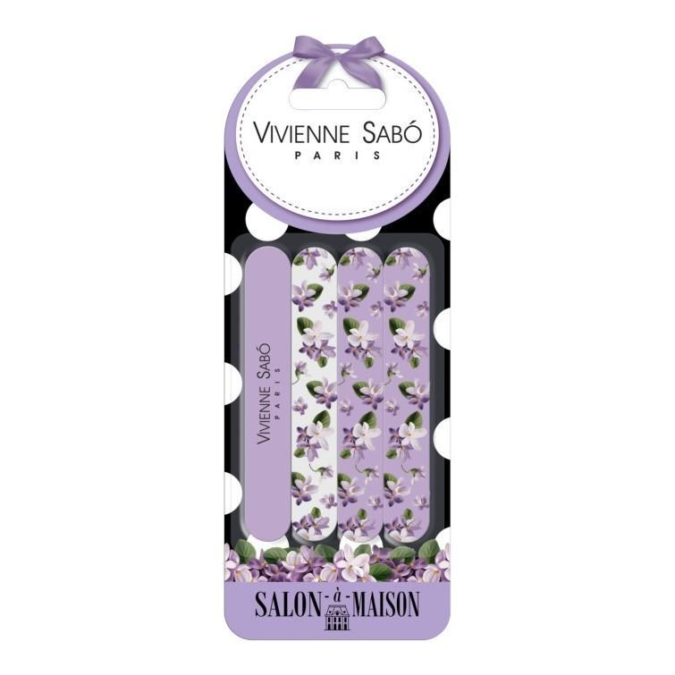 Vivienne Sabo Набор пилочек для ногтей 4шт