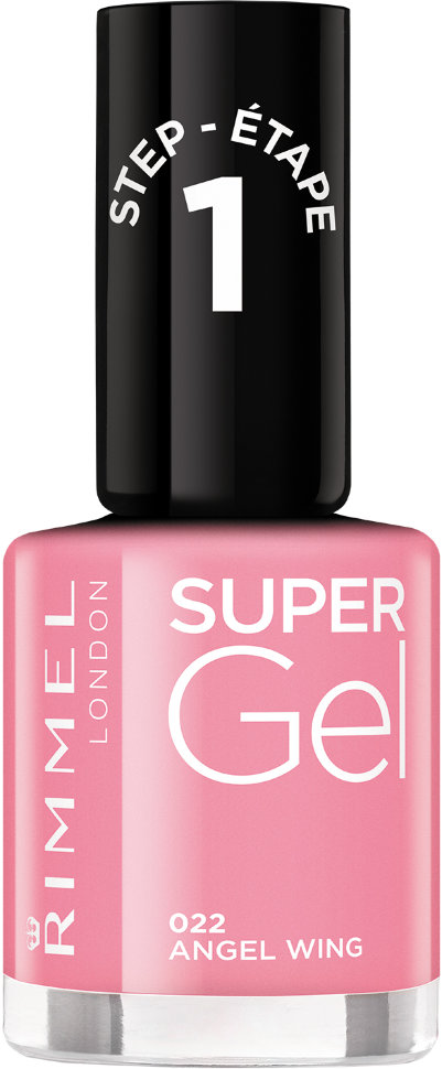 Rimmel Super Gel Kate nail polish гель-лак для ногтей 12 мл (022 розовый)