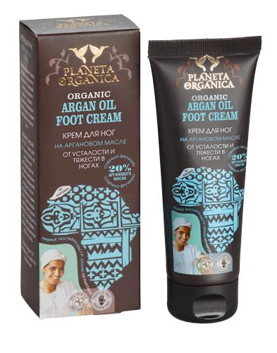 Planeta Organica Крем для ног от усталости и тяжести Аргановое Масло