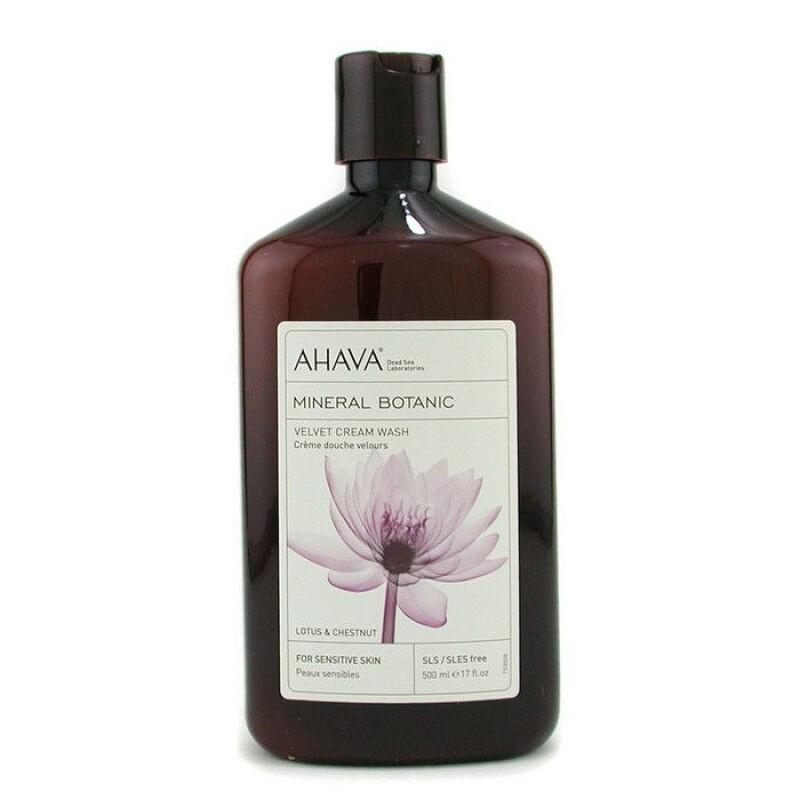 Ahava Mineral Botanic Бархатистое жидкое крем-мыло лотос и каштан 500 мл