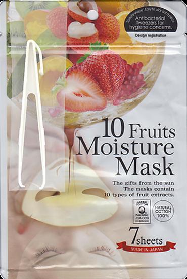 JAPONICA JAPAN GALS Маски для лица с экстрактом 10 фруктов 7шт (Japonica)