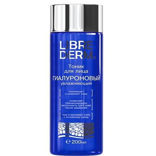LIBREDERM Гиалуроновый тоник увлажнения для лица 200мл (Librederm)