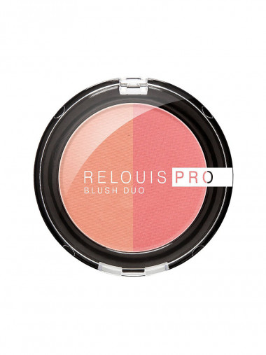 Relouis Румяна Relouis Pro Blush Duo — Makeup market