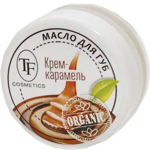 ТРИУМФ TF Масло-бальзам для губ Крем-Карамель в баночке (Триумф TF)