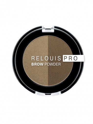 Relouis Тени для бровей Relouis Pro Brow Powder — Makeup market