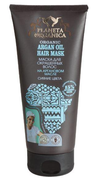 Planeta Organica Маска для окрашенных волос Сияние Цвета Аргановое Масло