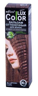 Белита Бальзам оттеночный для волос Lux Color (06.01 орехово-русый)