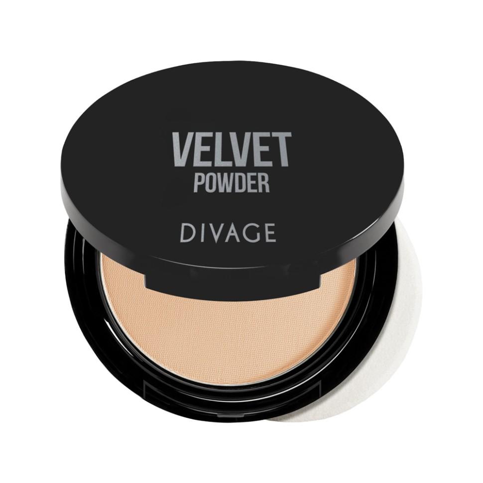 Divage Пудра компактная Velvet (№5201)