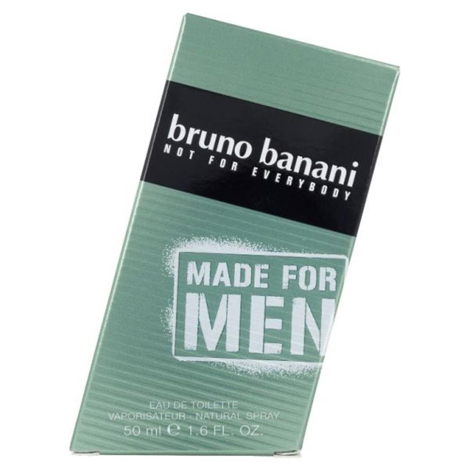 Bruno Banani Made For Men Туалетная вода 50 мл (BB000508) (BRUNO BANANI)