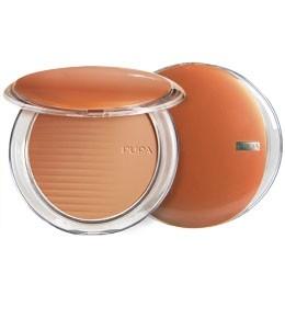 Pupa компактная пудра с бронзирующим эффектом Desert bronzing powder (02 honey gold)