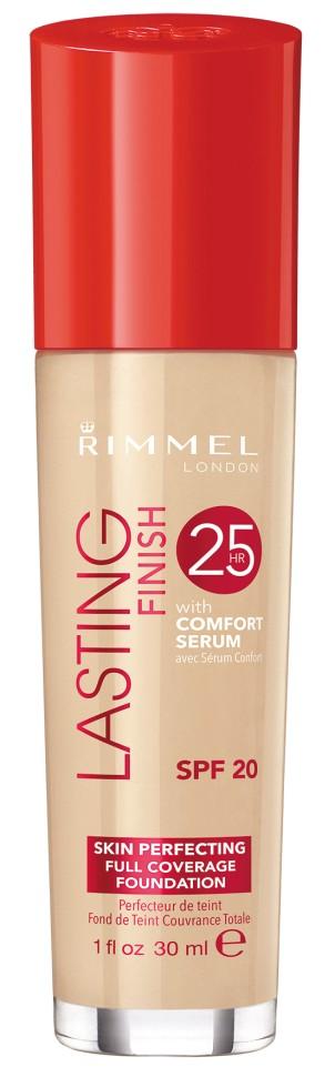 Rimmel Тональный Крем Lasting Finish Comfort Found (№100)Rimmel<br>Безупречный макияж до 25 часов. Формула с активными ингредиентами: минеральный комплекс заряжает энергией уставшую кожу, а сыворотка Comfort с витамином Е и гиалуроновой кислотой увлажняет кожу. Не тускнеет, не смазывается, не боится стрессов. Солнцезащитный фактор SPF 20.<br>Состав:<br>AQUA/WATER/EAU, CYCLOPENTASILOXANE, TITANIUM DIOXIDE, BUTYLENE GLYCOL, CETYL PEG/PPG-10/1 DIMETHICONE, ETHYLHEXYL METHOXYCINNAMATE, TALC, TRIMETHYLSILOXYSILICATE, SODIUM PCA, SILICA SILYLATE, C12-15 ALKYL ETHYLHEXANOATE, MAGNESIUM SULFATE, ZINC STEARATE, DIMETHICONE/VINYL DIMETHICONE CROSSPOLYMER, ACRYLATES/C12-22 ALKYL METHACRYLATE COPOLYMER, BISPEG/PPG-14/14 DIMETHICONE, AMODIMETHICONE, LAURETH-7, LECITHIN, TRIBEHENIN, DISTEARDIMONIUM HECTORITE, PHENOXYETHANOL,TRIHYDROXYSTEARIN, CHLORPHENESIN, DIMETHICONOL, TRIETHOXYCAPRYLYLSILANE, XANTHAN GUM, PARFUM/FRAGRANCE, PENTYLENE GLYCOL, TOCOPHERYL ACETATE, PROPYLENE CARBONATE, HYDROXYETHYLCELLULOSE, GLYCERIN, CITRIC ACID, FRUCTOSE, SODIUM HYDROXIDE, UREA, LAURETH-4, HEXYL CINNAMAL, LIMONENE, BUTYLPHENYL METHYLPROPIONAL, ALLANTOIN, MALTOSE, SODIUM CHLORIDE, SODIUM LACTATE, SODIUM SULFATE, TREHALOSE, BENZYL SALICYLATE, LINALOOL, GERANIOL, BHT, CITRONELLOL, ALPHA-ISOMETHYL IONONE, GLUCOSE, SODIUM HYALURONATE, PENTAERYTHRITYL TETRA-DI-T-BUTYL H<br><br>Вес г: 150<br>Бренд : Rimmel<br>Объем мл: 30<br>Упаковка : с дозатором<br>Тип кожи : все типы кожи<br>Степень покрытия : средняя<br>Эффект от нанесения : выравнивающий<br>Тип тонального средства : крем<br>Фактор SPF : 20<br>Страна производитель : Великобритания