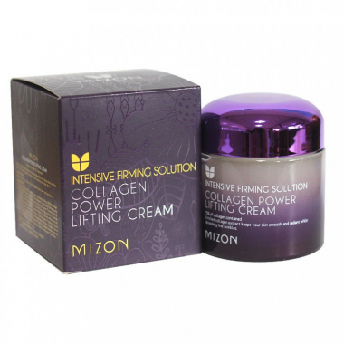 Mizon Лифтинг-крем для лица коллагеновый Collagen power lifting cream 75 мл — Makeup market