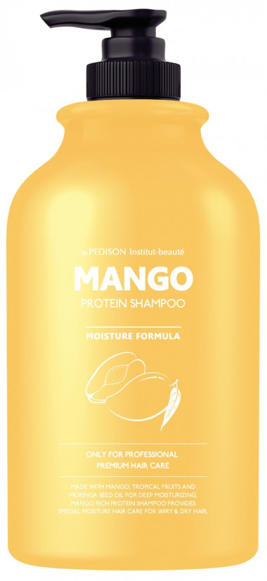 Evas Шампунь для волос манго Institute-Beaute Mango Rich Protein Hair Shampoo 500 мл — Makeup market