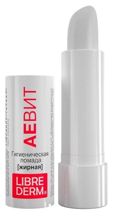 LIBREDERM АЕВИТ Помада губная гигиеническая жирная (Librederm)