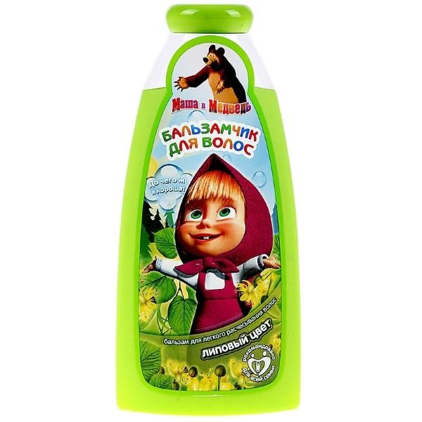 Маша и Медведь Бальзам для легкого расчесывания волос Липовый цвет