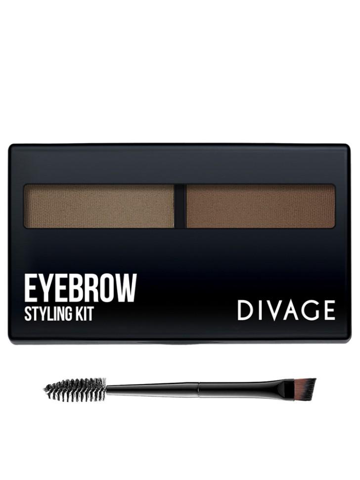 Divage Eyebrow Styling - Набор для моделирования формы бровей №01