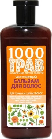 Рецепты Б.Агафьи 1000 трав Бальзам для волос укрепляющий