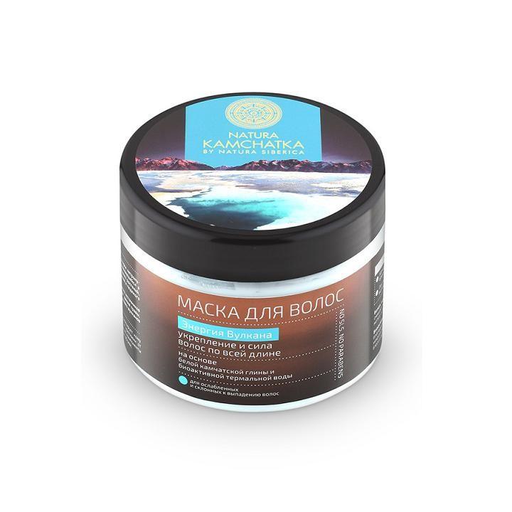 Натура Сиберика Маска для волос Энергия вулкана укрепление и сила волос по всей длине 300 мл.