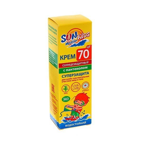 БИОКОН Sune Time Детский Крем для особо чувствительных участков лица и тела SPF70 50мл