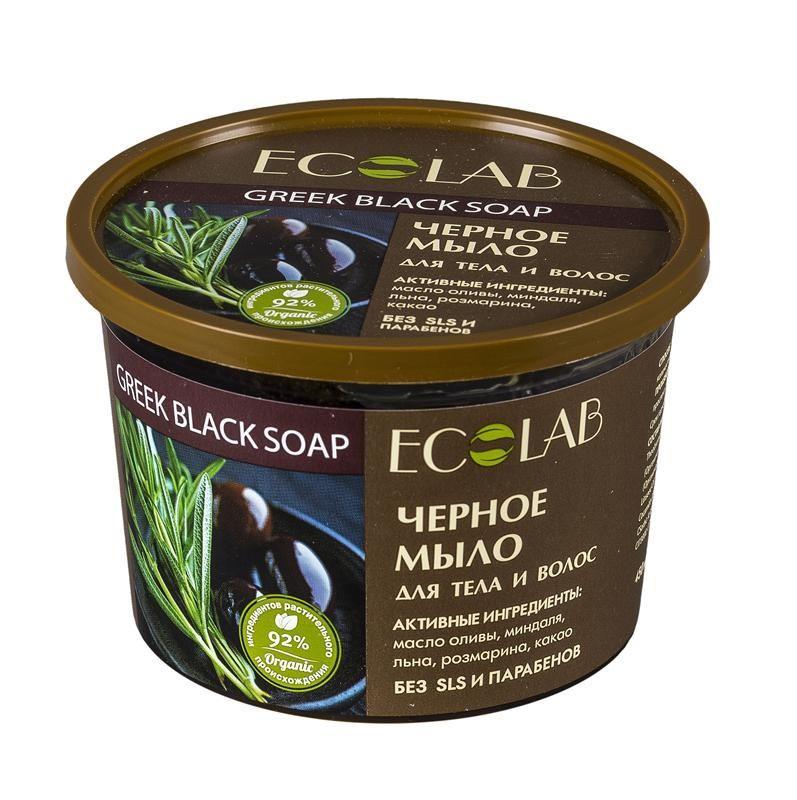 """Ecolab Мыло для тела и волос """"Черное"""""""