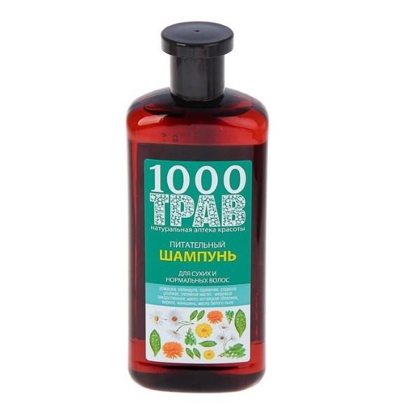 Рецепты Б.Агафьи 1000 трав Шампунь для волос питательный
