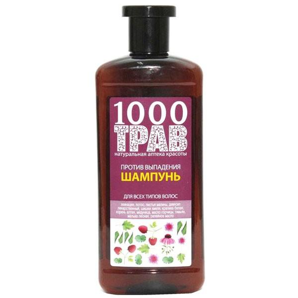 Рецепты Б.Агафьи 1000 трав Шампунь для волос против выпадения