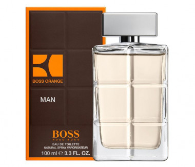 Hugo Boss Hugo orange men Eau De Toilette 100 мл мужская — Makeup market