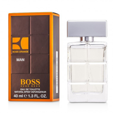 Hugo Boss Hugo orange men Eau De Toilette 40 мл мужская — Makeup market
