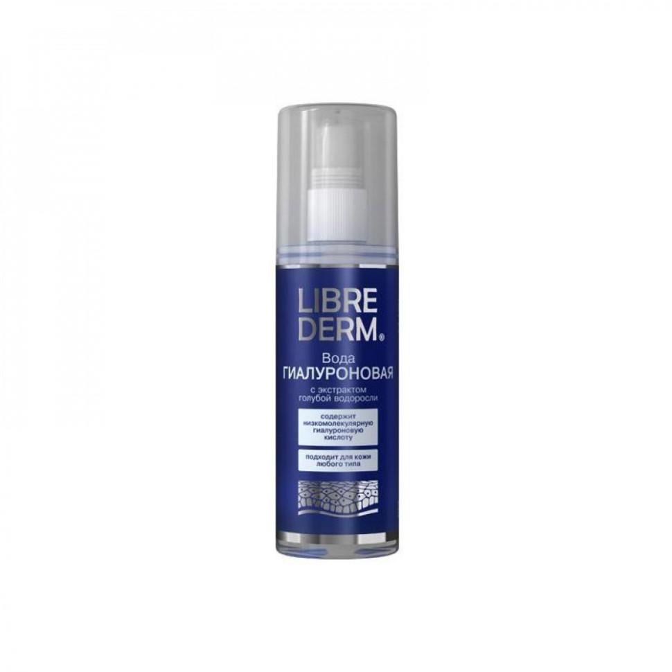 LIBREDERM Гиалуроновая вода насыщает и освежает влагой кожу лица (Librederm)