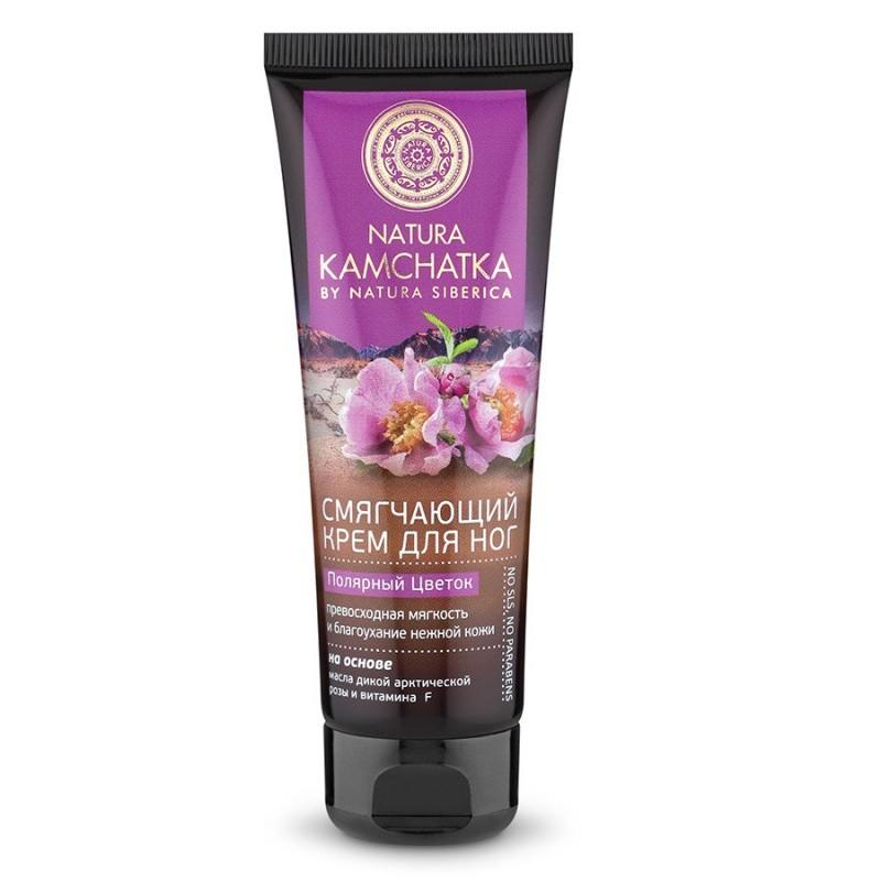 Натура Сиберика Крем для ног «Полярный цветок» мягкость и благоухание нежной кожи 75 мл.