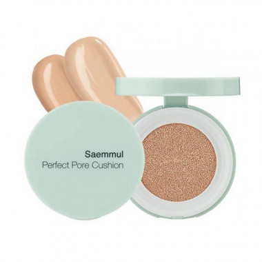 The Saem Тональная основа The Saemmul Perfect Pore Cushion 02 Natural Beige 12 гр — Makeup market