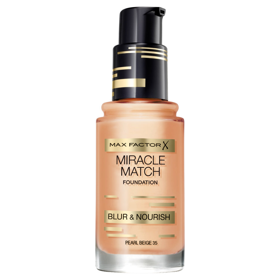 Max Factor Тональная основа Miracle Match (35 pearl beige)