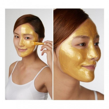 Esthetic House Маска для лица с 24 каратным золотом Piolang 24k Gold Wrapping Mask 80 мл — Makeup market