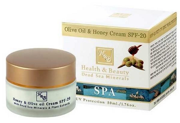 Health Beauty Крем для лица SPF20 с маслом Оливы и Меда