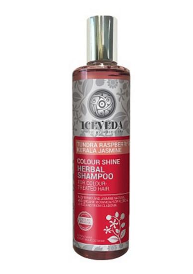 Eurobiolab Iceveda Шампунь сияние цвета для окрашенных волос Северная малина