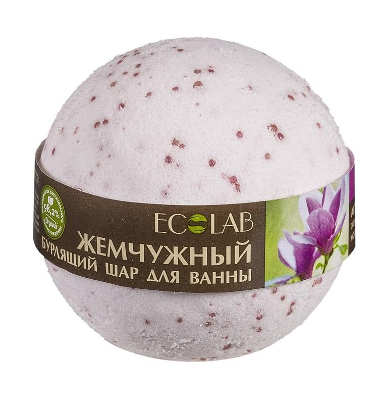 Ecolab Бурлящий шар для ванны Магнолия и Иланг-иланг