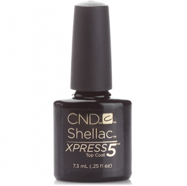 CND Топ Top Coat  XPRESS-5 7,5 ml — Makeup market