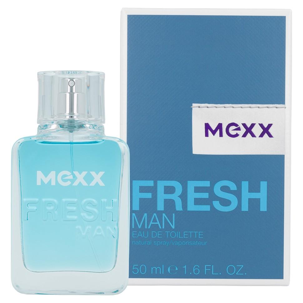 Mexx Fresh Man Туалетная вода 50 мл