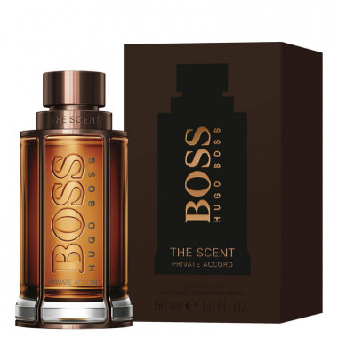 Hugo Boss The scent private accord Eau De Toilette 50 мл мужская — Makeup market