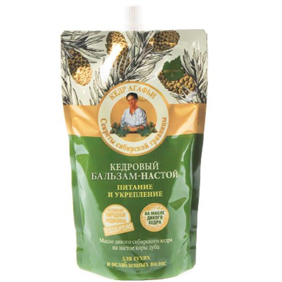 Рецепты Б.Агафьи Бальзам-настой для волос кедровый Дойпак 500 мл.