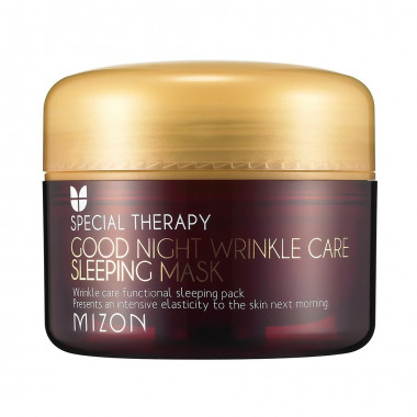 Mizon Ночная маска против морщин Good Night Wrinkle Care Sleeping Mask 75 мл — Makeup market