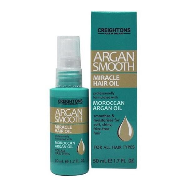 CREIGHTONS Масло с экстрактом арганы для придания блеска и гладкости волосам (Creightons)