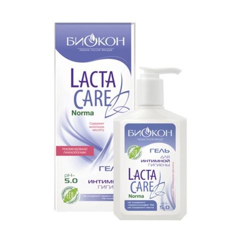 БИОКОН Lacta Care ИНТИМ Норма Гель для интимной гигиены PH 5, 275мл