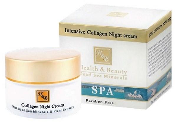 Health Beauty Крем для лица ночной интенсивный коллагеновый